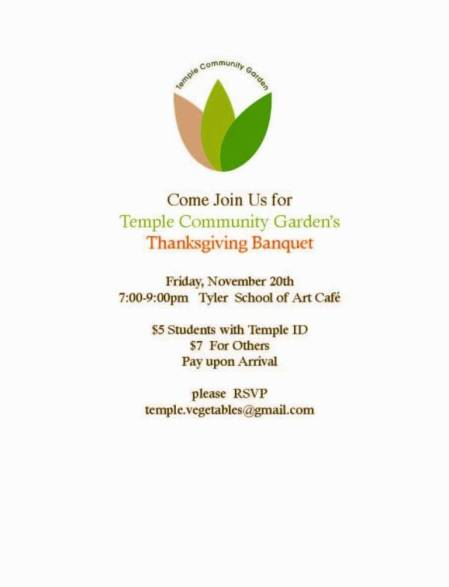 TCG Temple Student Invite 2