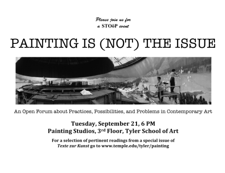 Painting Symposium from Stoop