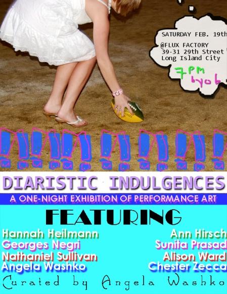Diaristic Indulgences
